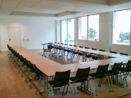format U - location salle de réunion