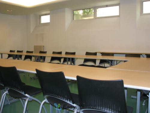 salle de réunion ou de formation - format U