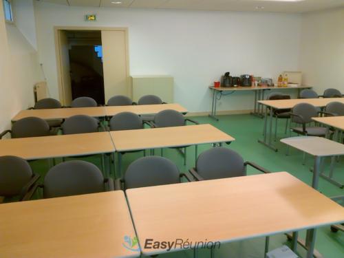 salle de réunion ou de formation - format classe